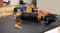 [NDP racing]ISC绞牙避震如何预压缩弹簧安装演示