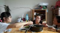江西省上饶市广丰区桐畈镇特产美食大胃王中国吃播视频
