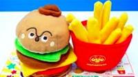 面包超人  汉堡包过家家玩具套装