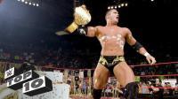 WWE十大庆祝场面大反转 毒蛇兰迪从蛋糕里蹦出 葬爷和杰夫肉体互换