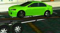 工程车视频之车辆运输车跨城市转运赛车游戏第2期 阿克叔游戏_1080P