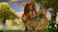 白垩纪恐龙格斗 宝宝巴士恐龙世界 恐龙星球 恐龙当家 伤齿龙艰难捕食记