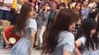 韩国街头美女跳舞, 颜值爆表