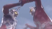 捷德奥特曼 欧布奥特曼发现黄色巨大喷火怪兽 奥特曼综合格斗3