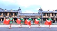 黄材国兵广场舞《老妺儿》原创大扇子舞附教学