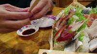 在日本吃海鲜刺身, 这么一盘够你吃吗?