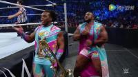 "WWE美式摔跤娱乐 SD 6 2 科菲不敌风格哥 ""那帮""觊觎新世纪双打冠军"