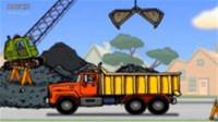 挖掘机工作视频挖掘机视频搅拌车60