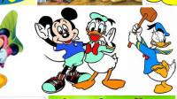 米奇欢乐多 迪士尼果汁摊 米老鼠和米奇妙妙屋 米老鼠和唐老鸭中文版