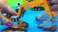 挖掘机视频表演大全儿童大吊车60