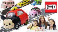 多美小汽车玩具 恐龙当家小货车 KITTY车 迪士尼米奇车 巧虎跑车
