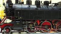 展览上的蒸汽火车模型, 这个还原程度真是没谁了!