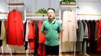 北京时尚品牌女装折扣批发 靓芭莎秋冬大衣 羽绒服尾货专柜正品