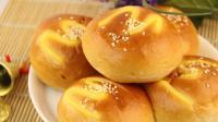 在家自制奶黄面包, 简单几个步骤, 做出来的面包松软超好吃!