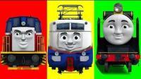 托马斯和他的朋友们  车子装货忙碌转运