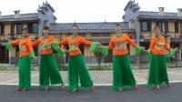 简单轻松的广场舞《美丽华容我的家》跳起来优雅迷人 黄材国兵广场舞
