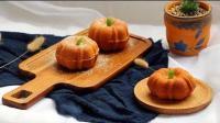 美食制作, 可爱又好吃的南瓜蛋糕, 松软南瓜小蛋糕