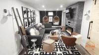 60平现代简约风格新房装修, 60平米室内装修效果图