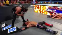 WWE刚把别人揍翻就去采访别人, 真是气人啊!