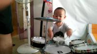 儿童爵士鼓视频萌娃玩具游戏视频