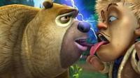 熊出没之光头强熊大快跑 小牛游戏解说益智小游戏
