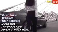 漂亮超模赛车手假扮专车司机, 突然飙车引得上班男怒骂!