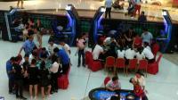 模拟赌城拉斯维加斯赌博21点游戏体验视频2017义乌万达广场1周年庆