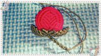 燕子手工: 最可爱又简单的中国结吊饰之小桃子教程, 编成要关注哦