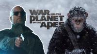 《猩球崛起3》凯撒霸气,前方经典惊悚回忆来袭,简直是童年阴影