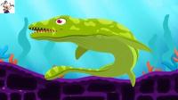 水底恐龙化石挖掘 侏罗纪恐龙化石游戏 侏罗纪世界公园 恐龙公园 永哥玩游戏
