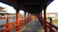 怎么形容她的美? 夕阳西下走在文天祥提名的江西崇仁黄洲桥上