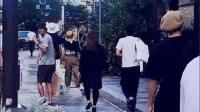 邓超孙俪日本甜蜜度假, 被网友偷拍两人背影超时尚
