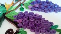 创意衍纸手工DIY, 一分钟学会立体葡萄挂饰制作
