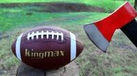 壮汉手中的斧头有多厉害? 美国橄榄球会是它的对手吗?