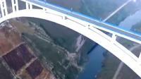 """中国首例用航天技术""""射""""出一座世界级特高大桥! 引外国人围观!"""