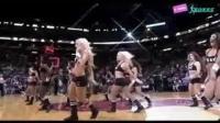 视频: 球场最闪亮的星星 火辣性感啦啦队劲舞助阵