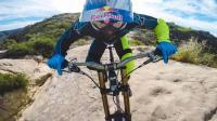 山地自行车骑行山巅, 让自己的活力尽情燃烧