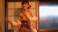 日本美女穿和服跳C哩C哩舞画面挺美的