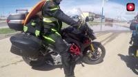 摩托车骑行西藏, 偶遇本田190摩友, 不说多先停下来一起抽根烟