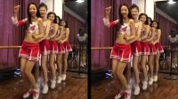 五位制服美女大跳兔子舞, 第一位魔鬼身材, 最后一位天使面孔!