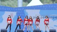 韩国随处可见这样的美女组合跳舞, 舞蹈跳的差不多长得也都差不多
