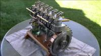 精美的小型直列6缸发动机, 这制造工艺真了得