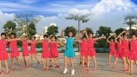 澄海春风广场舞 笑春风老师原创编舞《精忠报国》个人版 附教学分解