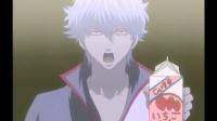 银魂: 厉害了! 银桑一本正经地打广告, 神坑队友一直在抢病号新八的食物吃!