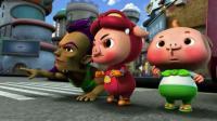 猪猪侠: 坏蛋计谋成功, 替小猪猪先烧好香