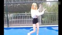 神曲《PANAMA》舞蹈有比这女孩好看吗?