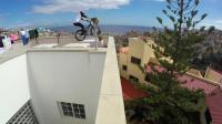 屋顶的骑行