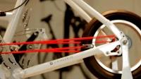 牛人发明的自行车, 尼龙绳代替链条, 创意满满!