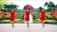 红领巾蝶舞芳香广场舞《哦买噶》恰恰32步