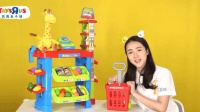 玩具百宝箱 019 超市购物套装 儿童角色扮演亲子趣味游戏扮家家玩具